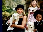 Samoyed Puppies Polo Kids 6670